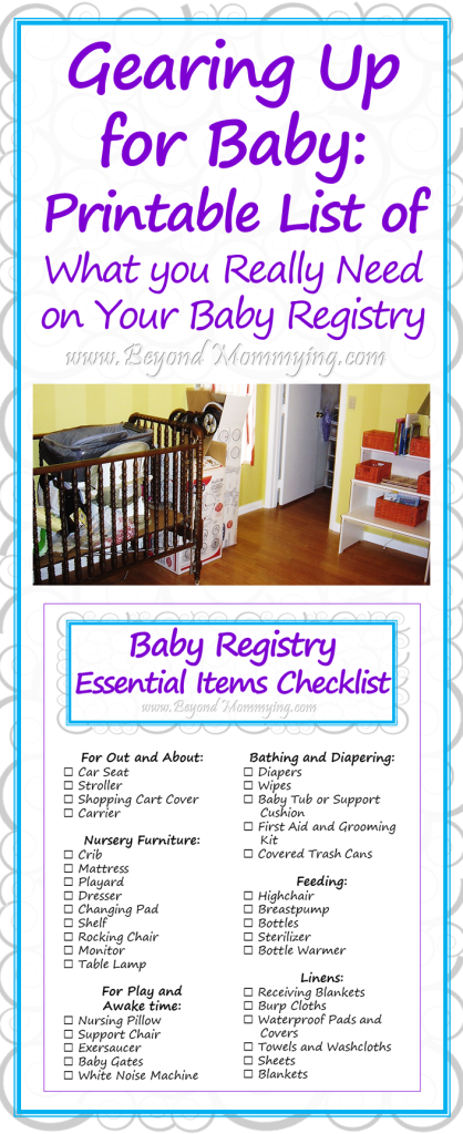 Gearing Up for Baby: What you Really Need on Your Baby ...