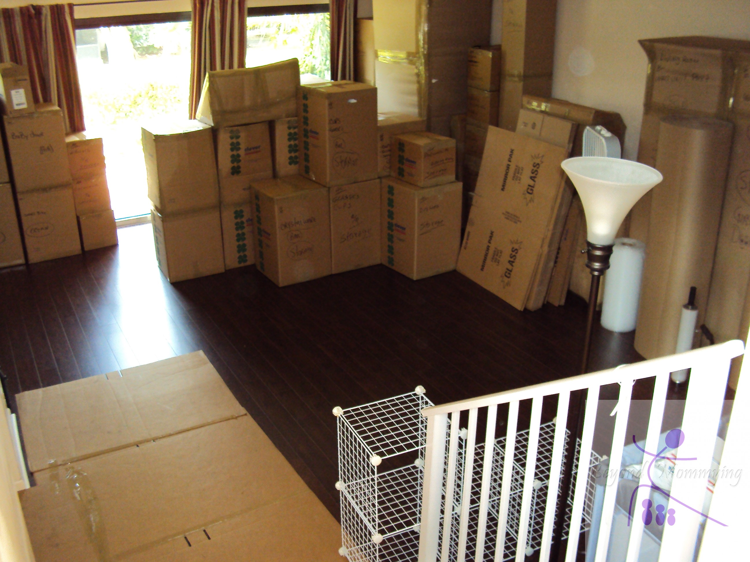 One thing to do each month of pregnancy beyond mommying for Used boxes for moving house