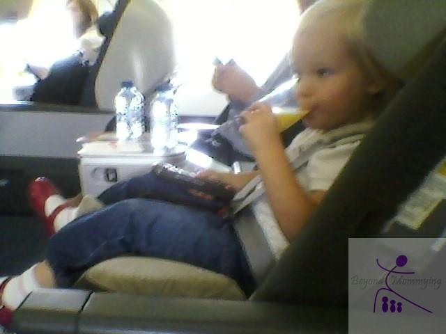 H on plane