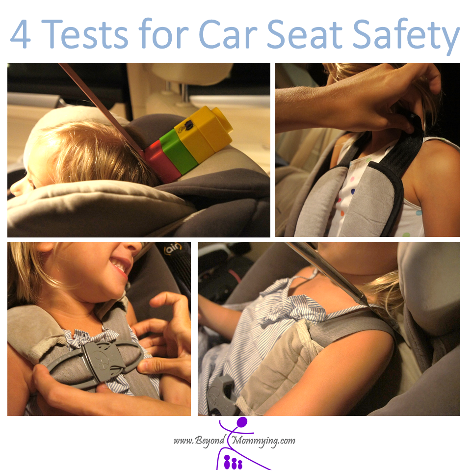 Car Seat Check: Quick and Easy Tests for Car Seat Safety