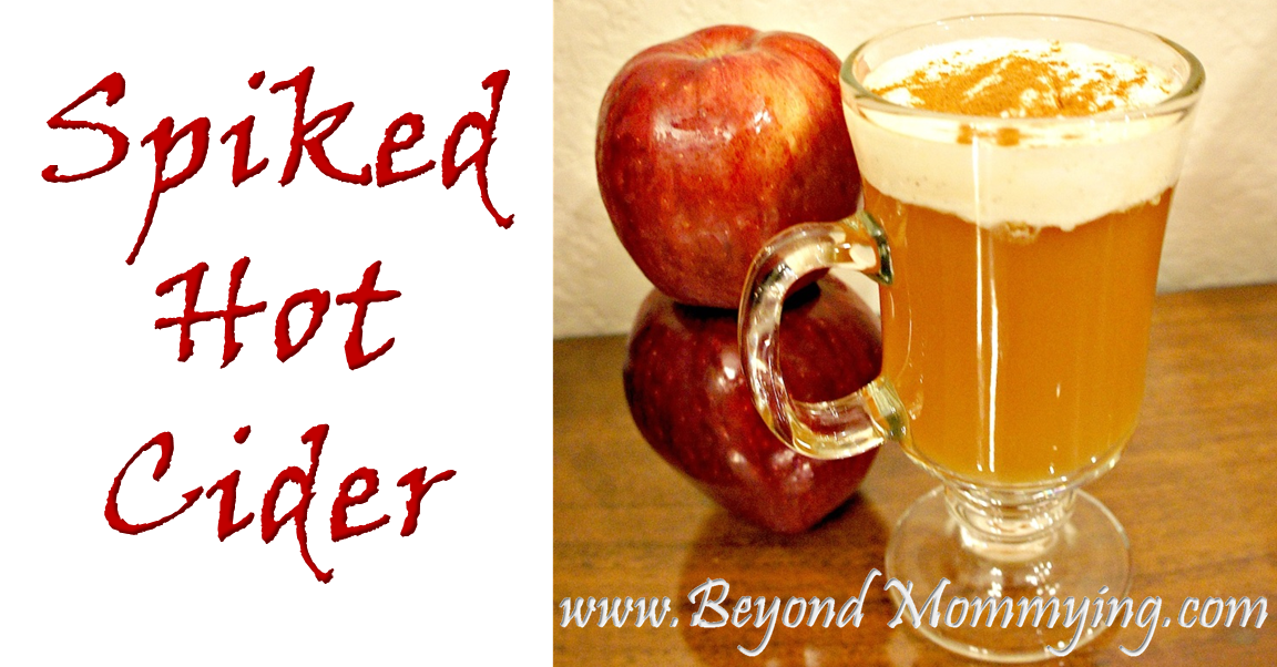 Spiked hot cider fb