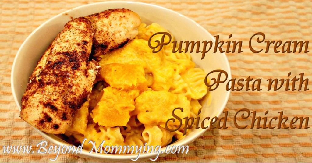 pumpkin cream pasta fb