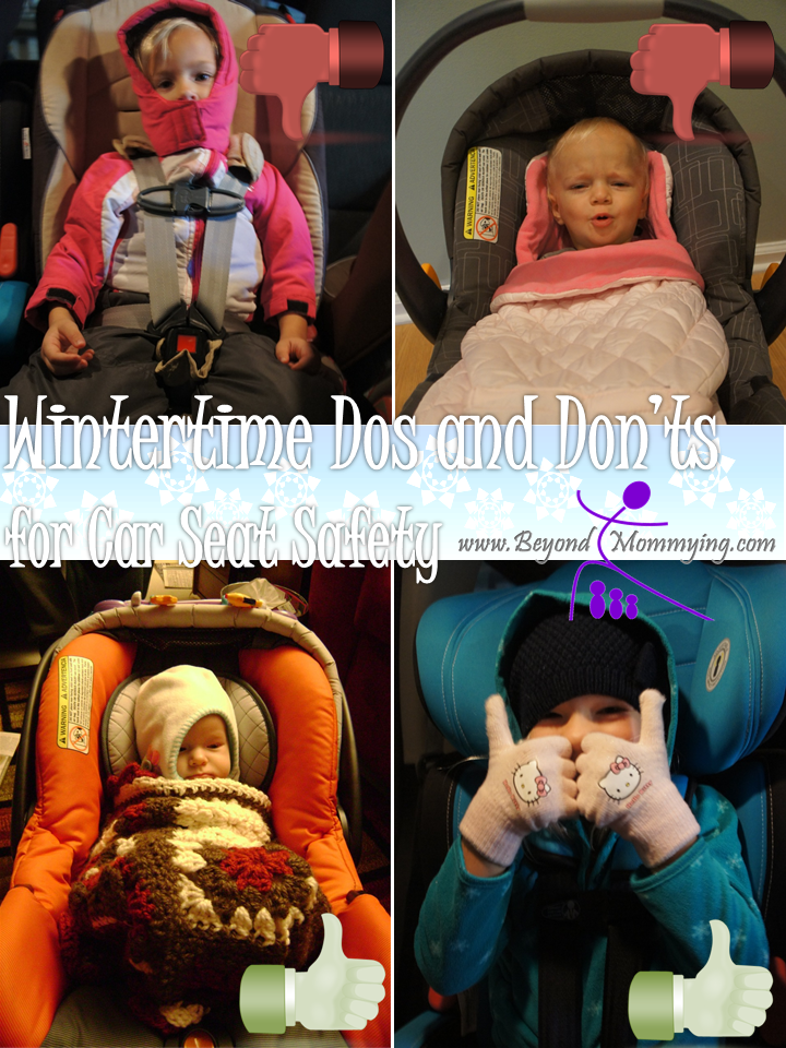 Winter Car Seat Safety - Beyond Mommying