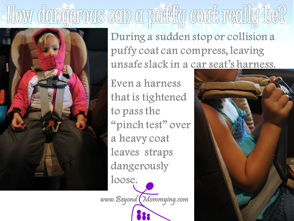 Coats and Car Seats - Beyond Mommying