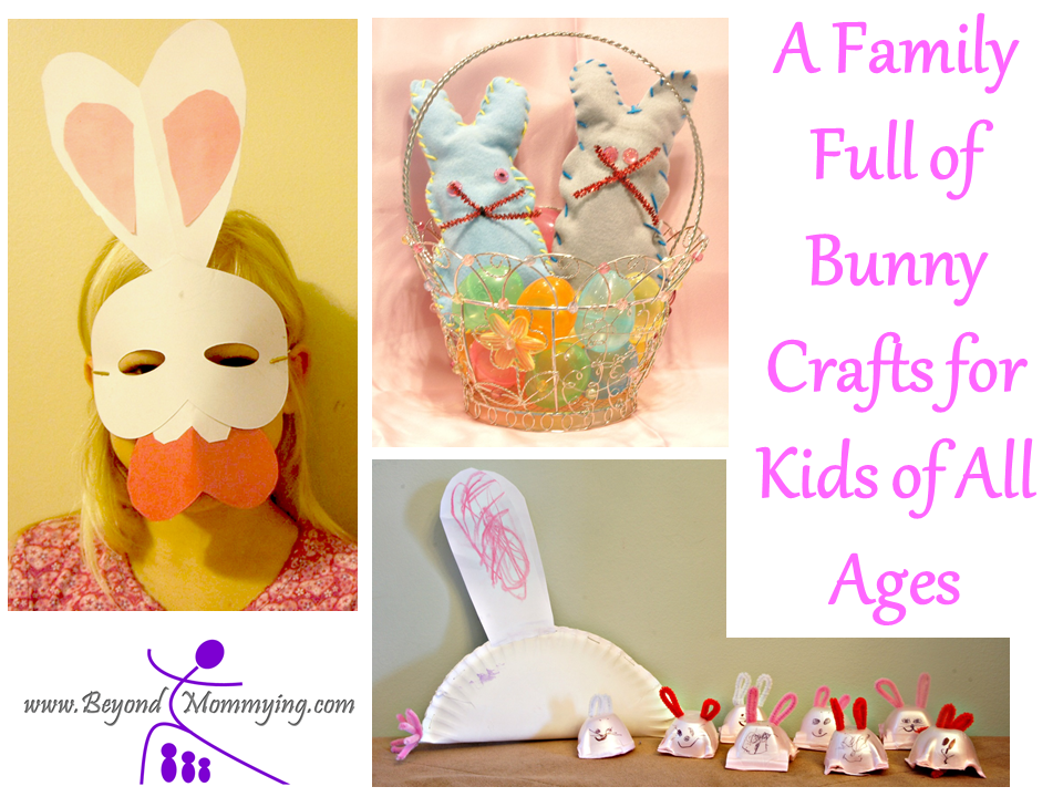 A Family Full of Bunny Crafts for Kids