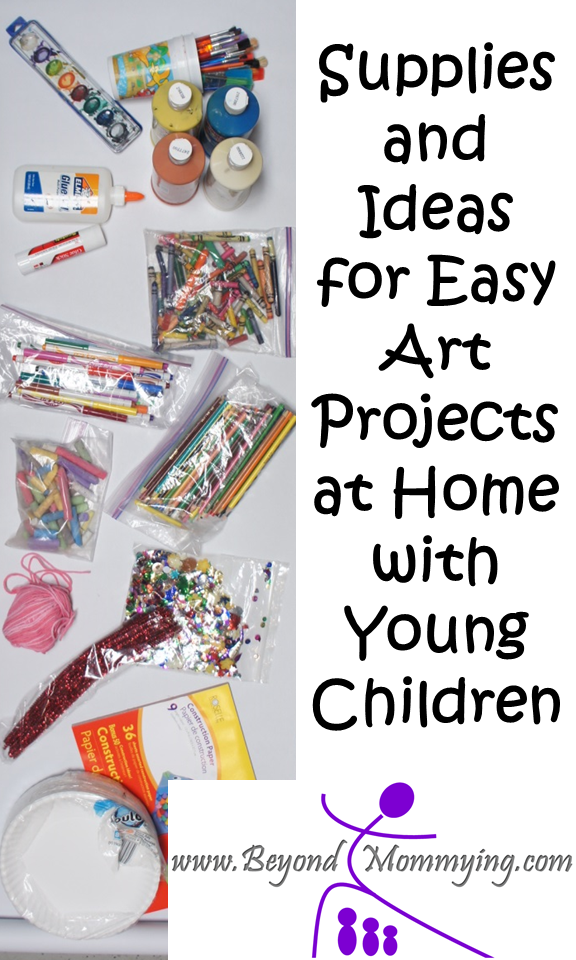 Easy Art at Home with Young Children
