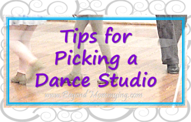 Tips from a ballet teacher on what to consider and look for when picking a dance studio