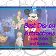 Best underrated attractions at Disney World for babies and toddlers