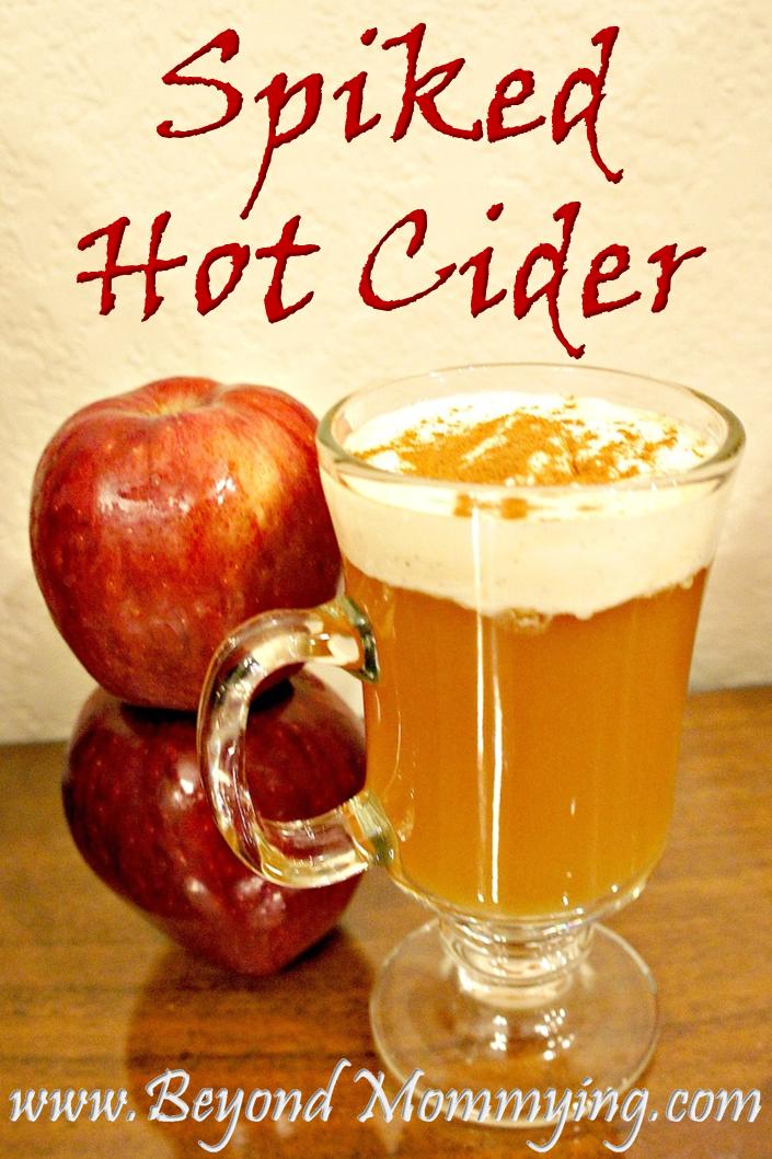 Spiked Hot Cider - Beyond Mommying