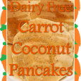 Dairy Free Carrot Coconut Pancake Recipe
