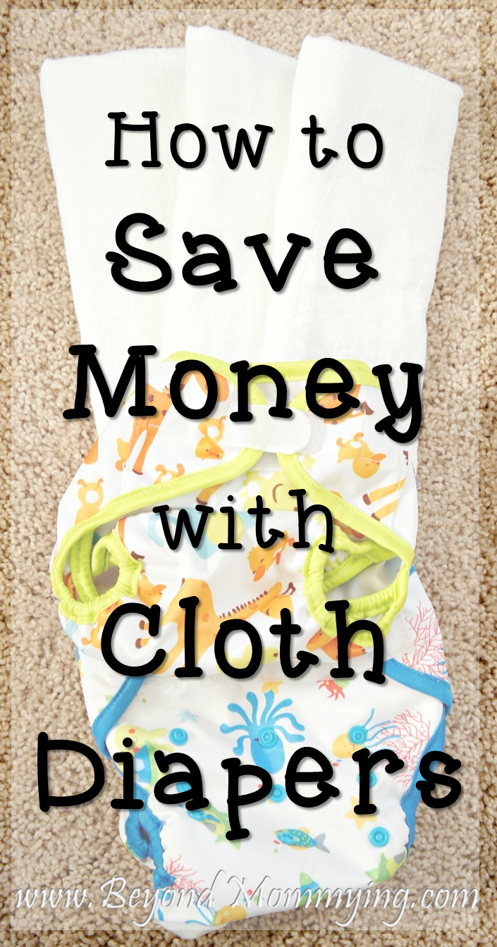 How to save money with cloth diapering