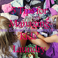 Tips for managing kid's laundry