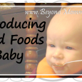 Introducing solid foods to baby: how and when to introduce what foods and a printable checklist of solid foods to introduce to baby.
