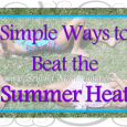 Beat the summer heat by staying cool outdoors with these simple ideas