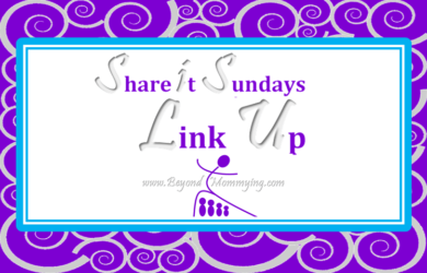 My weekly Sunday Link Up for parenting posts with no rules but I share every post every week.
