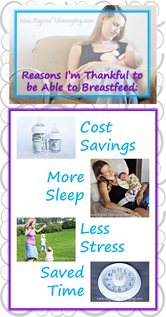 The many reasons I'm thankful to be able to breastfeed my babies during their first years and beyond