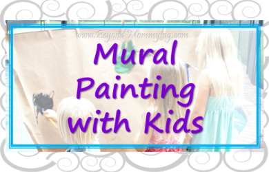 Tips for mural painting with kids