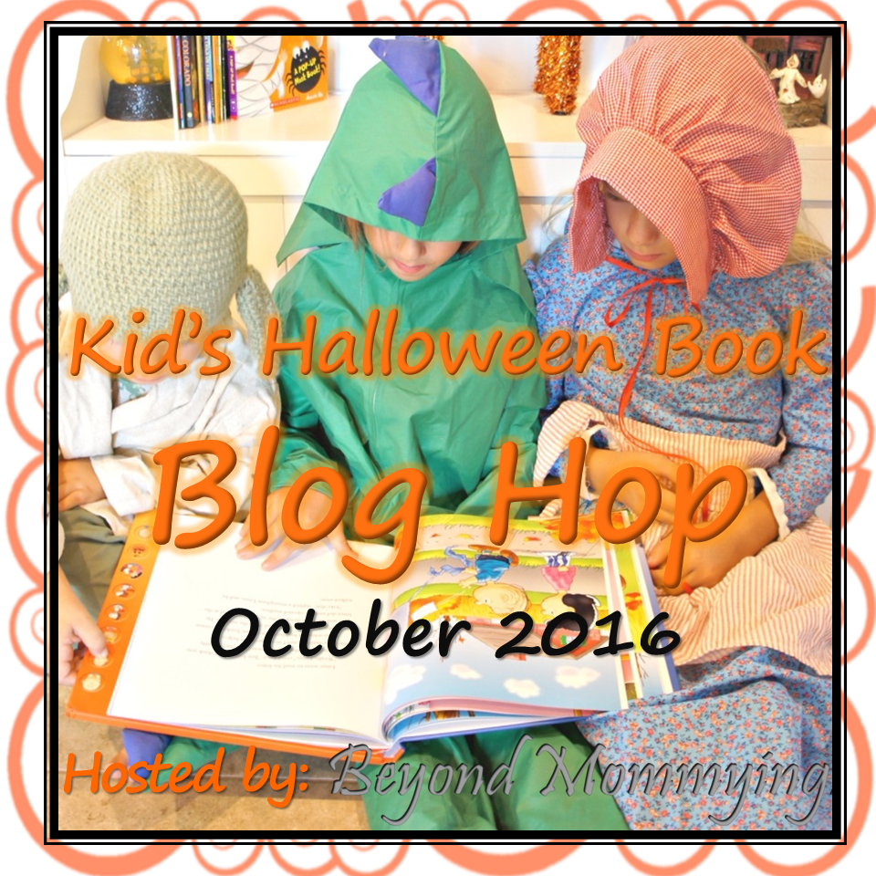 Kid's Halloween Book blog hop hosted by Beyond Mommying