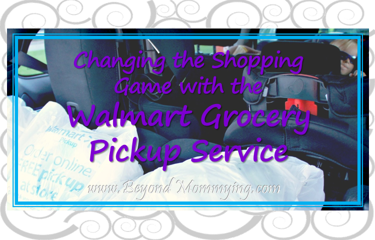 Easy Grocery Shopping with Kids: Use the Walmart Grocery Pickup Service and don't even go in!