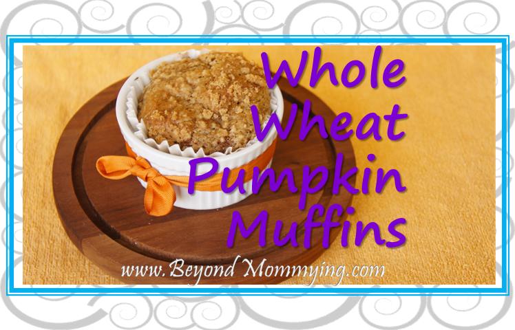 Recipe for Whole Wheat Pumpkin Muffins