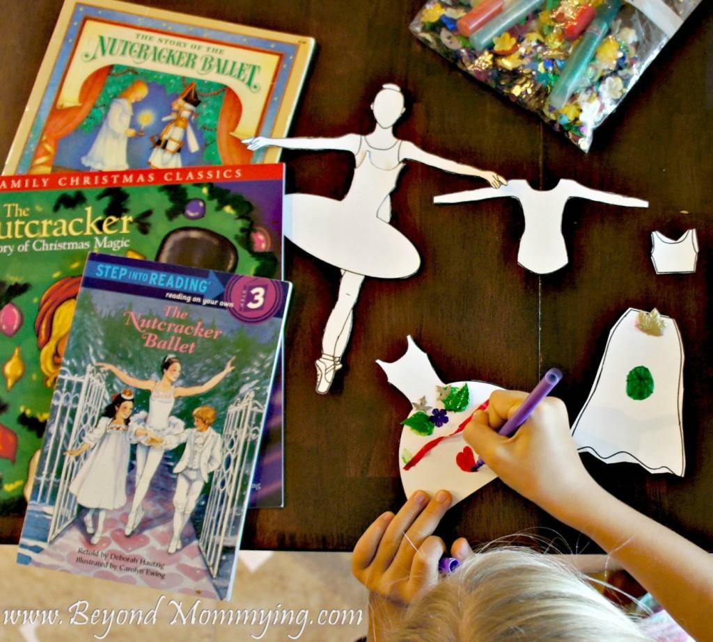 The Nutcracker Printable Ballerina Paper Dolls Beyond Mommying