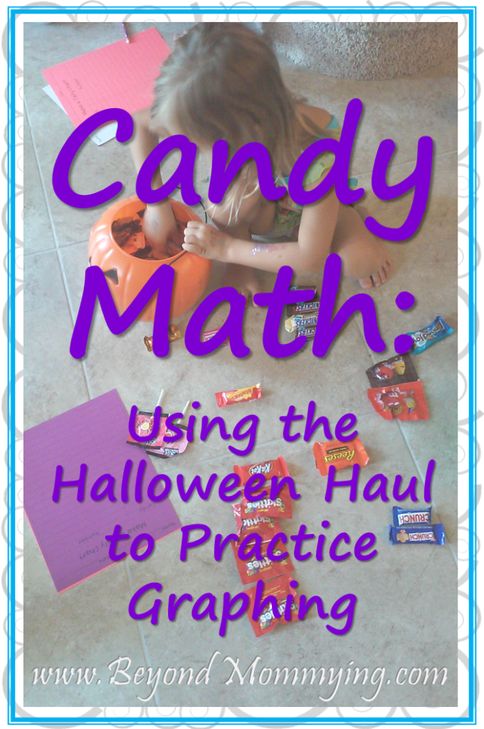 Using Halloween or other Holiday candy and treats to practice graphing with FREE printable graphing worksheets
