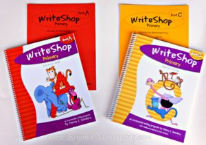Starting writing off on the right foot with a homeschool writing curriculum like WriteShop Primary builds skills and confidence in young writers. [ad]
