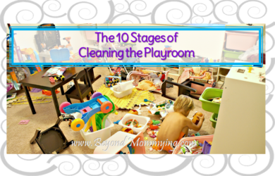 The 10 stages of cleaning the playroom: emotions every mom goes through when it's clean up time