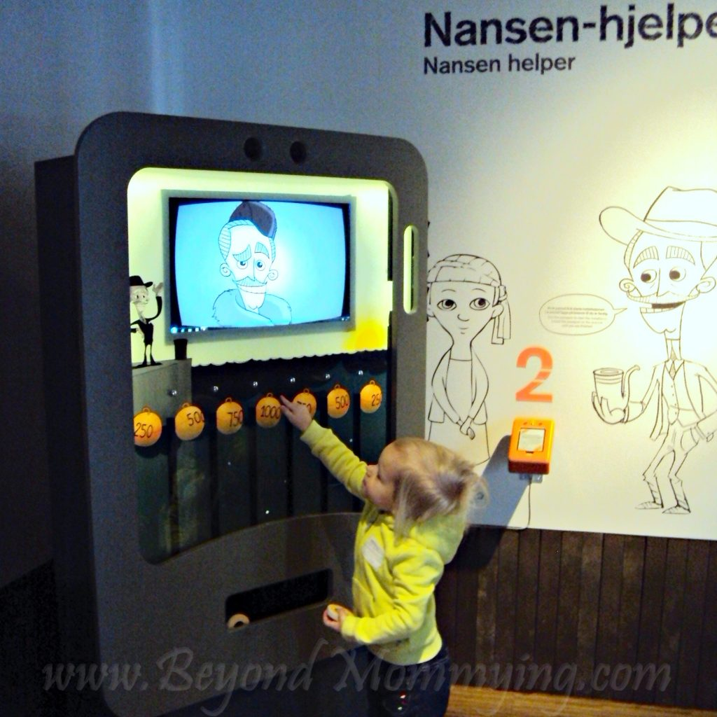 Visiting the Nobel Peace Center when traveling to Oslo with kids