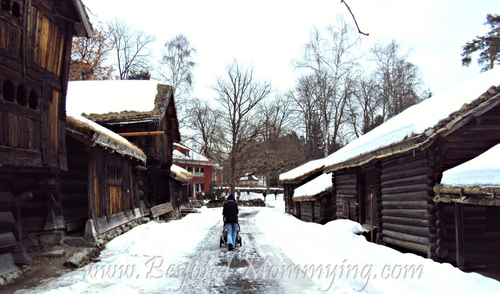 Visiting the Norsk Folkemuseum when traveling to Oslo with kids