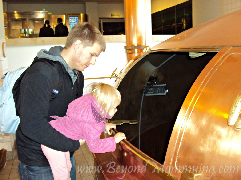Traveling to Amsterdam with Kids, visiting the Heineken Brewery