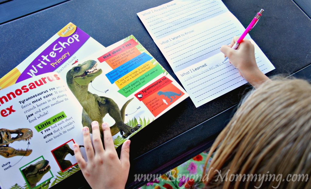 Way to encourage your children to write more often: Research a project they're interested in