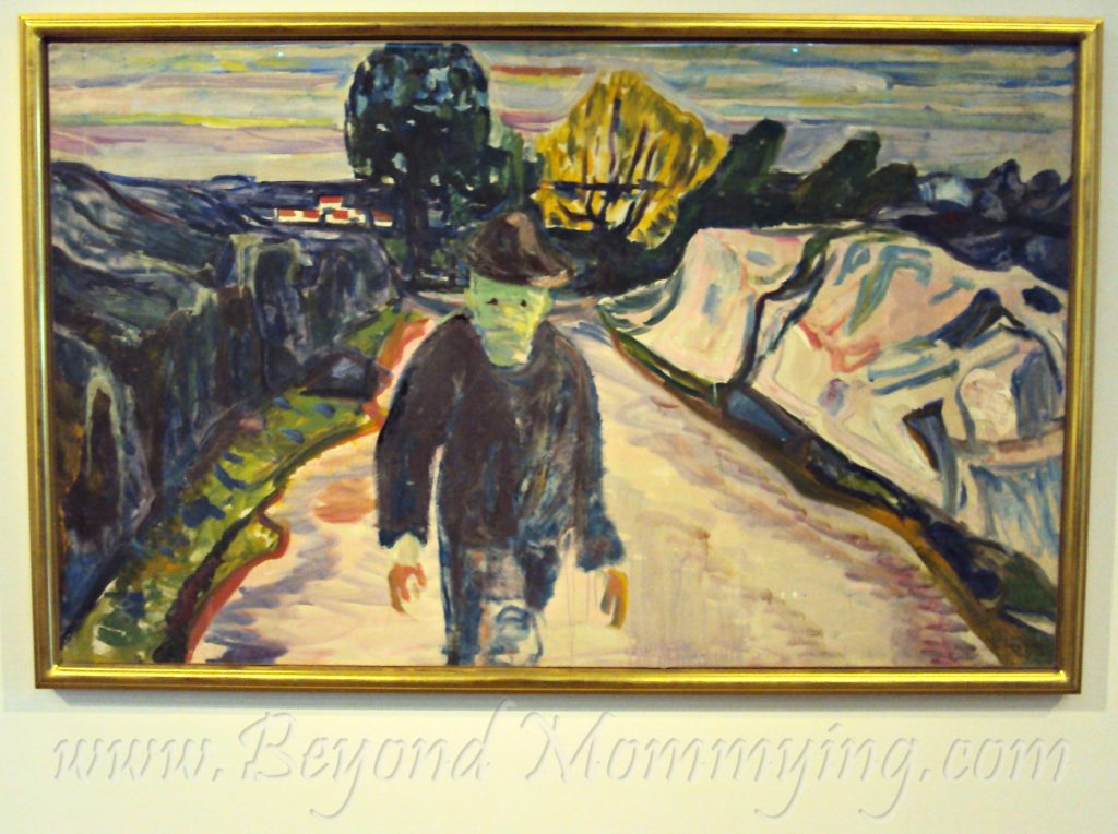 Visiting the Munch Museum when traveling to Oslo with kids