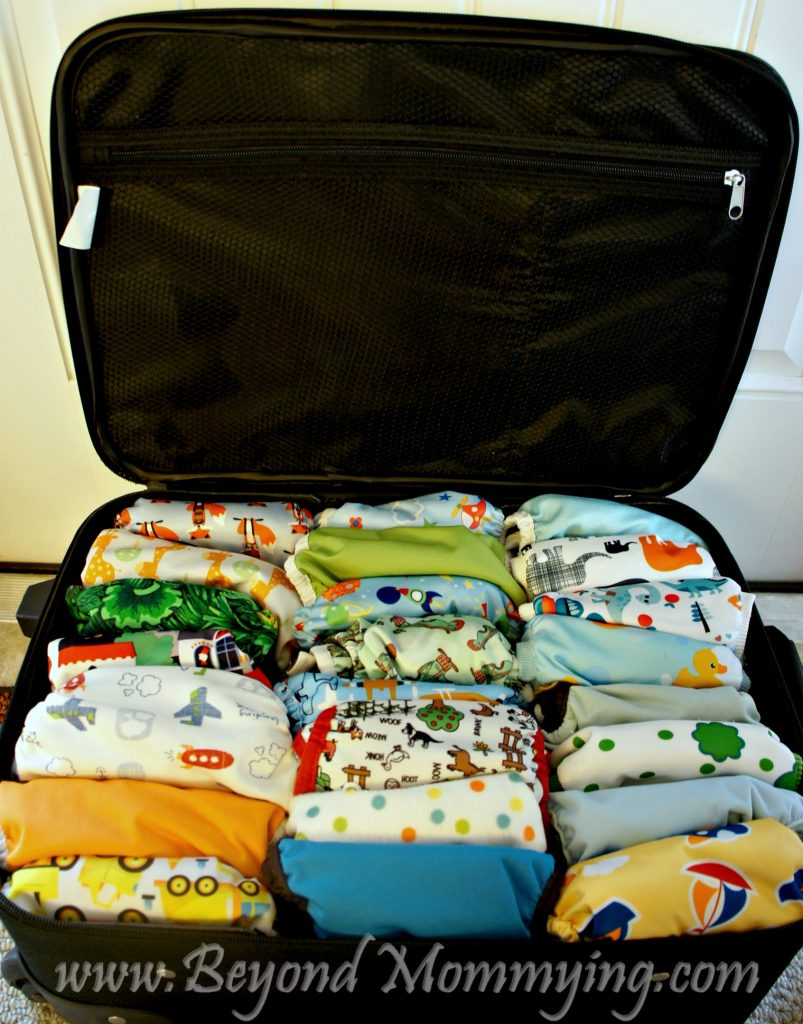 Traveling with cloth diapers: should you take them and what's the best way to travel with cloth diapers?