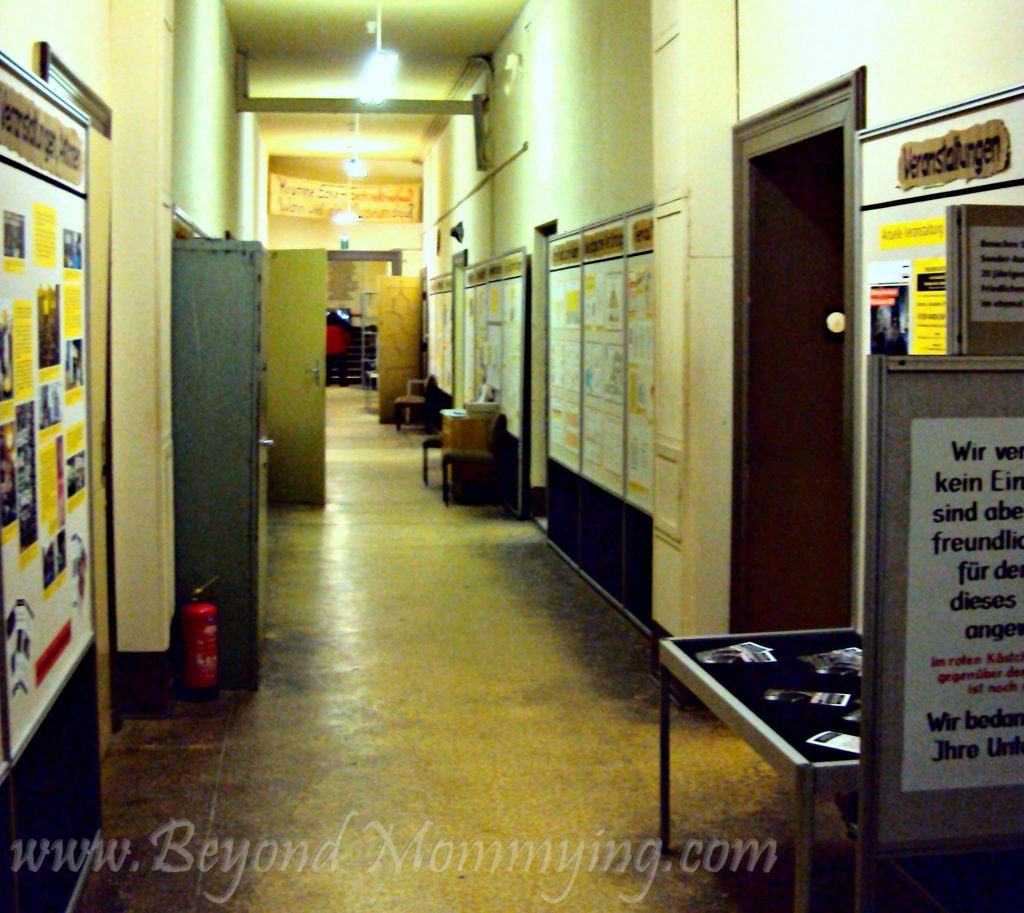 Traveling to Germany with kids: visiting the Runde Ecke museum in Leipzig, Germany
