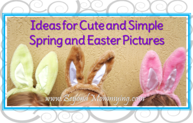 Spring and Easter pictures are the perfect time to have a little fun and capture some unique memories, no posed pictures or forced smiles necessary!