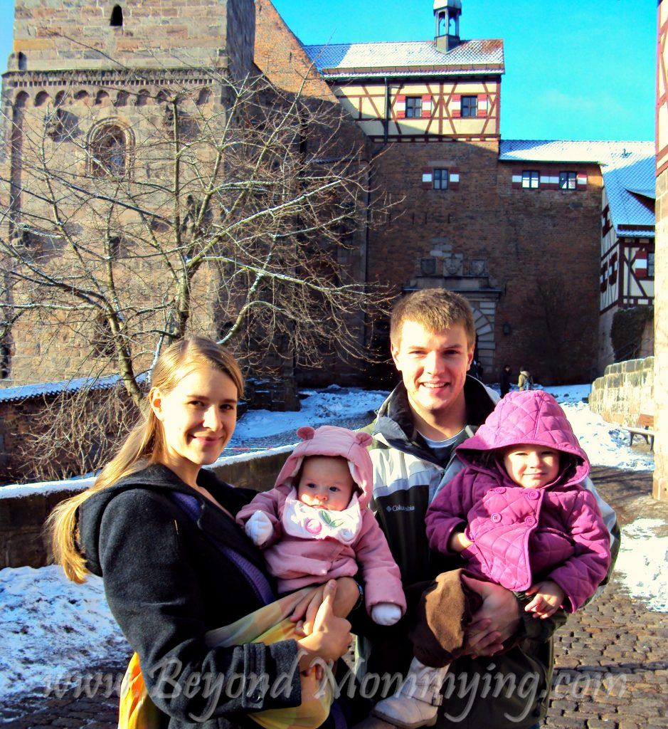 Traveling to Germany with kids: visiting Nuremberg Castle