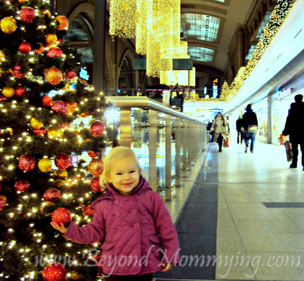 Traveling to Germany with kids: visiting the Promenaden Shopping Center in Leipzig, Germany