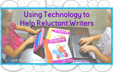 Ways to use technology to help a reluctant writer gain confidence and enjoy writing [ad]