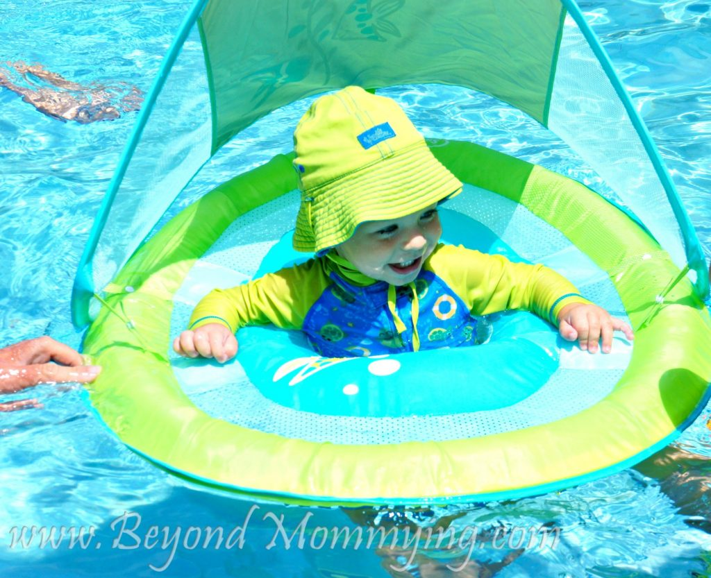 Taking Baby Swimming Safety First When Putting Baby In