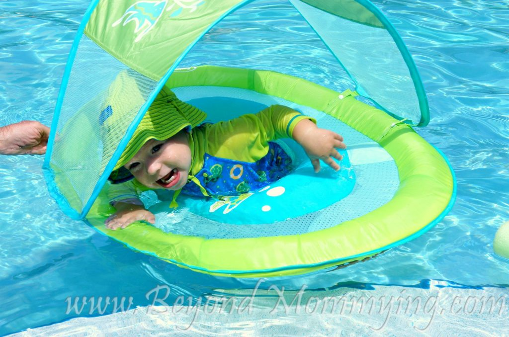 Taking Baby Swimming Safety first when Putting Baby in the Pool