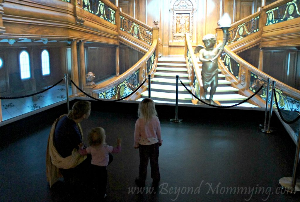 Traveling to Belfast with Kids: Titanic Experience