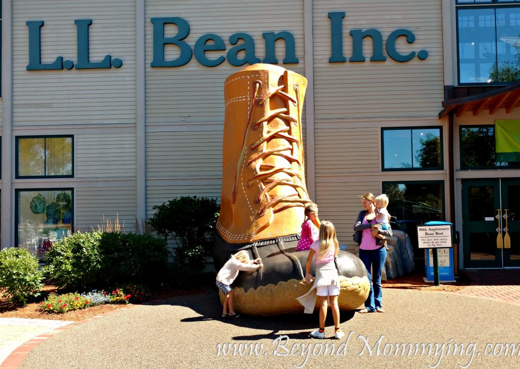 Things to do with kids in Portland, Maine: L.L. Bean