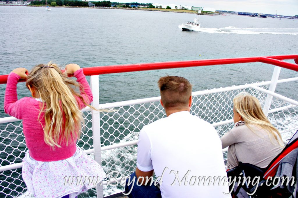 Things to do with kids in Portland, Maine: Ferry Boat Ride