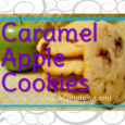 These Caramel Apple Cookies are chewy and light and oh so delicious with the combination of soft, sour apple and chewy, sweet caramel!