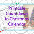 FREE Printable Countdown to Christmas 2017 Calendar to help keep track of how many days until Christmas and build excitement for the kids.
