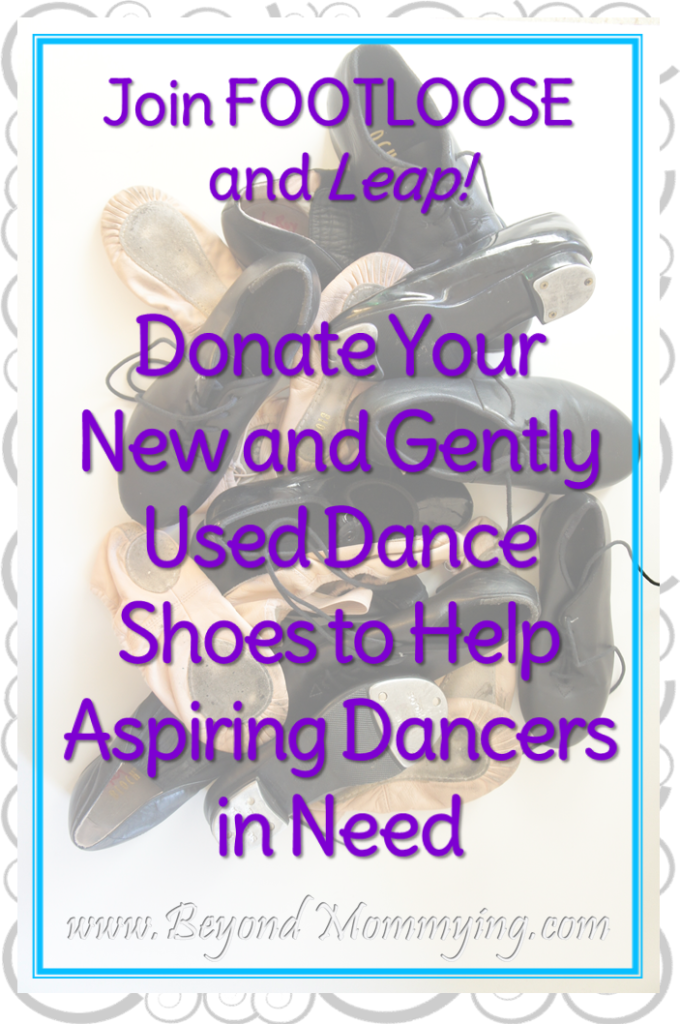 Dance is a dream that takes a lot. Join Leap! and FOOTLOOSE in helping to collect new and gently used dance shoes to help aspiring dancers in need.