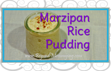 Almond Rice Pudding Recipe: dairy free and using a few simple ingredients, this rice pudding is slightly sweet and tastes just like marzipan.