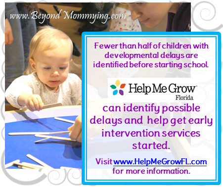 Diagnosing developmental delays and starting early intervention services as soon as possible is important to children's long-term well-being. National and state Programs such as Help Me Grow Florida can help families and providers with obtaining early intervention services.